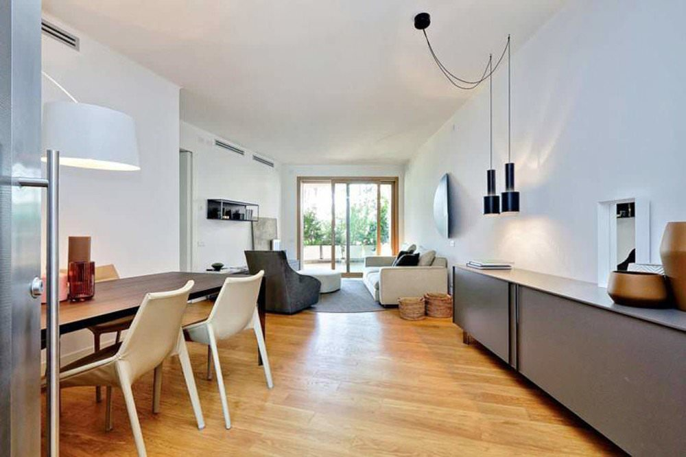 A prestigious newly built apartment in the Aventine Hill