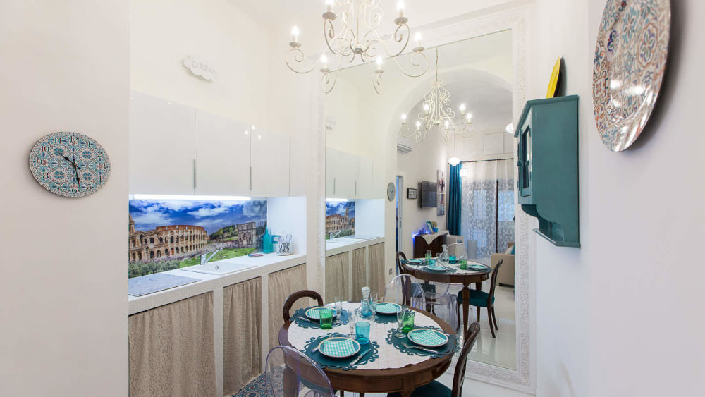 Investment property. Apartment in the center of Rome with a rental yield