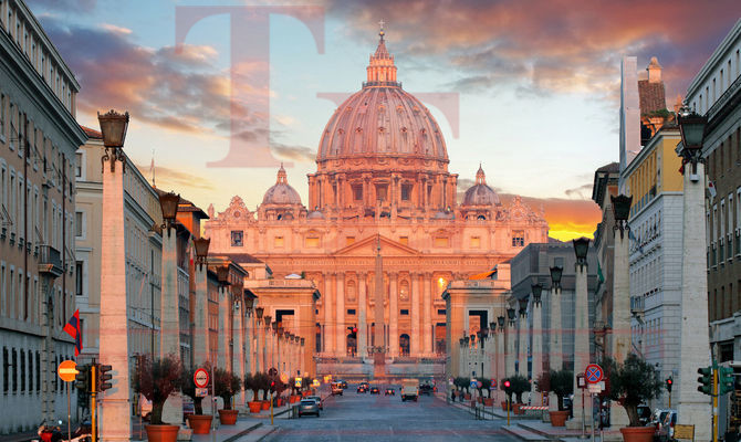 For sale a 3-star hotel in the center of Rome close to St. Peter's Cathedral and metro station