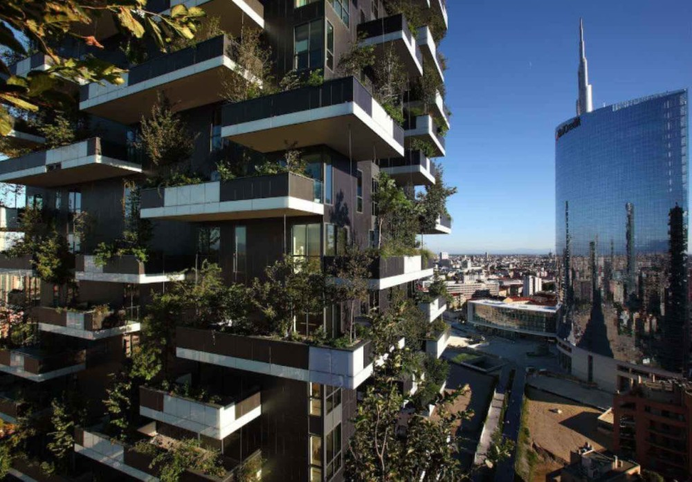 Residential complex Bosco verticale