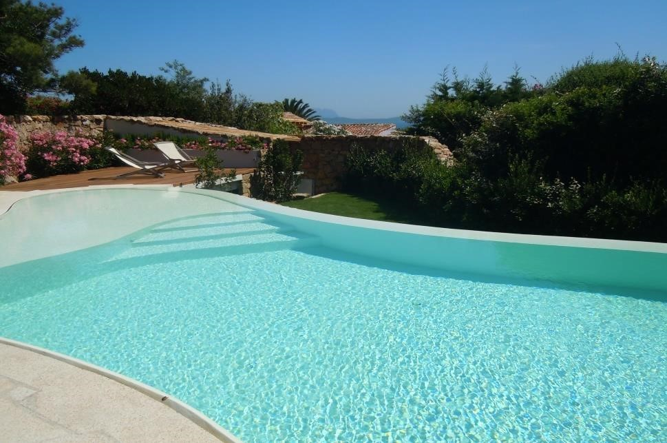 Newly built villa just a few steps from Cala di Volpe Hotel
