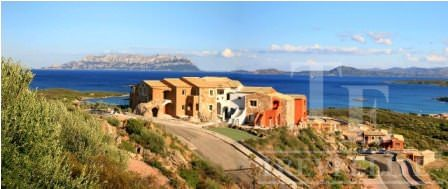 A residential apartment in a new complex on the island of Sardinia