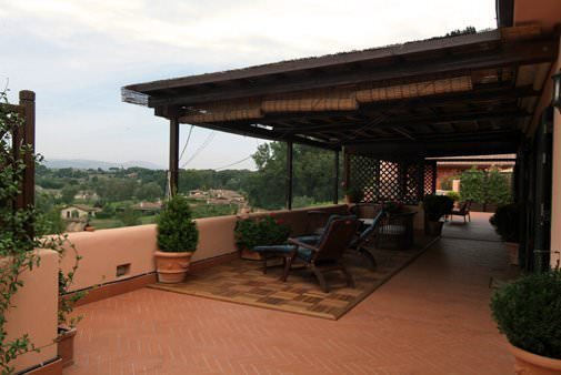 Villa in the golf club near Rome