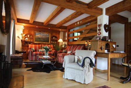 Chalet in the ski resort of Courmayeur