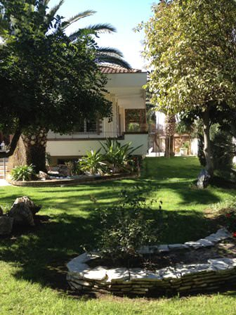 Villa in residential area of Rome