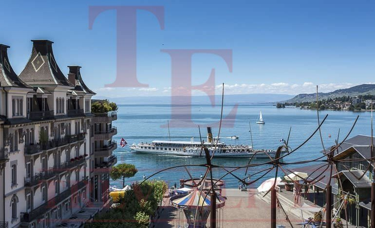 Beautiful apartment in the center of Montreux
