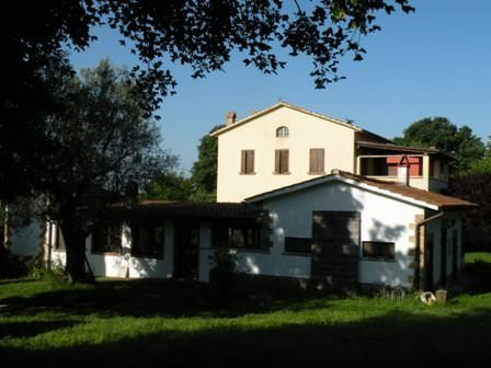 "House in Tuscany style ""Casale"" with private thermal spring"