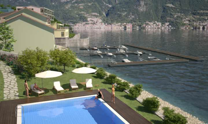 Apartments in Lezzeno on Como lake