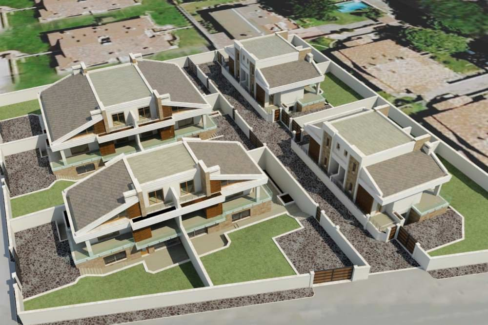 New townhouses in Infernetto