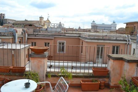 Penthouse in center of Rome near Fontana Trevi