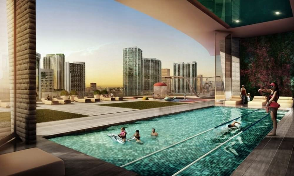 Apartments in a new residential complex Miami