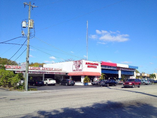 Automotive service and repair shop in Miami