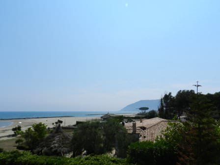 Villa at the seaside in Circeo