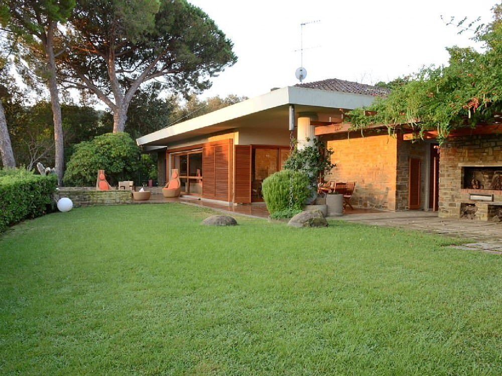 Villa with sea view in Punta Ala