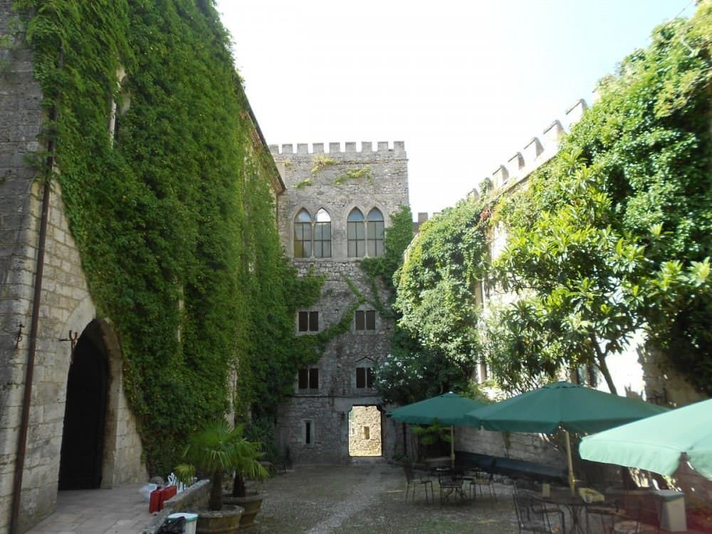 Medieval castle 100 km away from Rome