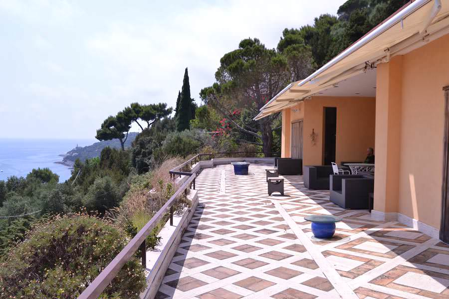 Panoramic villa in San Felice Circeo