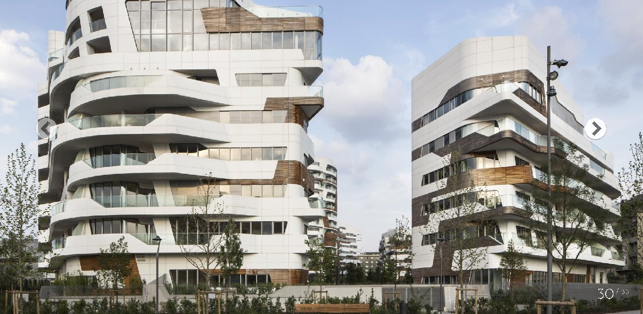 Luxury Apartment In Zaha Hadid Residential Compound In