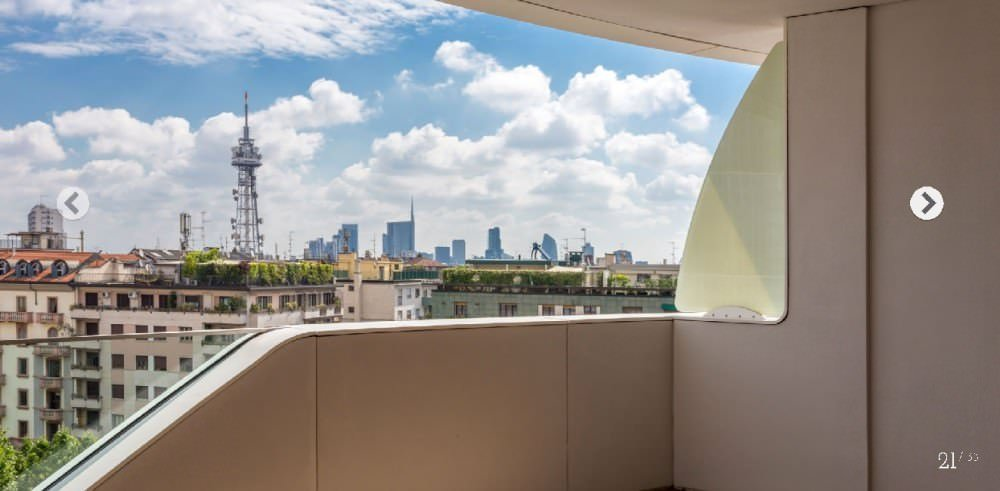 Luxury apartment in ZAHA HADID residential compound in Milan